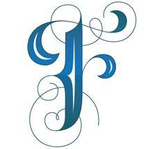 Single letter monograms again