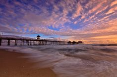 Beach Pier | Huntington Beach Pier, California