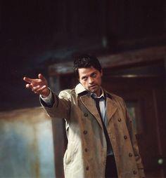 Misha Collins as Castiel Sam Winchester Gif, Castiel Aesthetic, Castiel Angel, Supernatural Funny, Misha Collins, Destiel, Superwholock, Film, Tv Shows