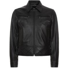 McQ Alexander McQueen Leather Bondage Biker jacket ($1,385) ❤ liked on Polyvore featuring men's fashion, men's clothing, men's outerwear, men's jackets, mens leather moto jacket, mens biker style jacket, mens leather biker jacket, mens padded jacket and mens padded leather jacket