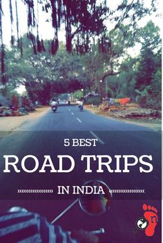 Road Trips are life changing, mind numbing experiences! Here're our picks for the 5 best routes to take for that elusive road trip with friends or family.