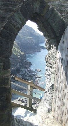 'Cornwall's best kept secrets' - Tintagel Castle Steps, Cornwall, UK