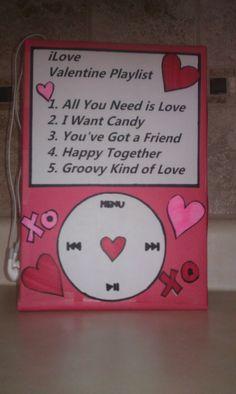 Valentine card box for Elijah :)