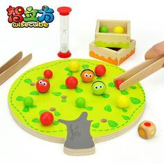 Candice guo! Drôle éducation jouet en bois montessori fruits colorés boules clip d'arbres coordination œil main jouet 1 pc dans Jouets & loisirs de sur AliExpress.com | Alibaba Group