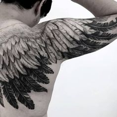 Eagle Wing Tattoos, Wing Tattoo Men, Wing Tattoos On Back, Wing Tattoo Designs, Sketch Tattoo Design, Head Tattoos, Back Tattoo, Tattoo Sketches, Life Tattoos