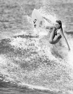 Surf queen. #alanablanchard
