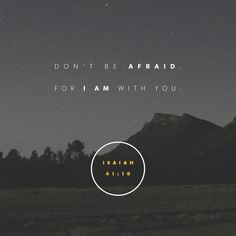 Do not fear, trust Jesus today. He was always there!