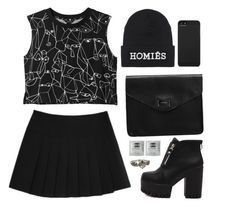 """""""Untitled #1894"""" by lullilia ❤ liked on Polyvore featuring Monki, Brian Lichtenberg, Gap, Incase, Cathy Waterman, women's clothing, women's fashion, women, female and woman"""