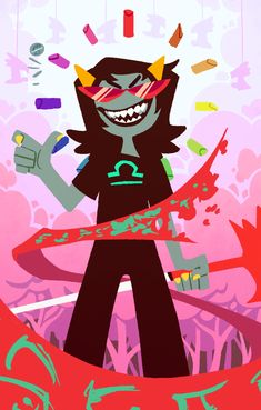 a while ago I did these designs for a homestuck deck of cards, but the organizer dropped off the face of the earth forever ago and nobody can get in contact with them, so I figured I could post them. Homestuck Trolls, Homestuck Nepeta, Home Stuck, Davekat, Artsy Fartsy, My Little Pony, Cool Pictures, Cool Art, Character Design