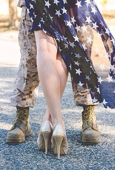 Military Engagement Photo Ideas and Inspiration
