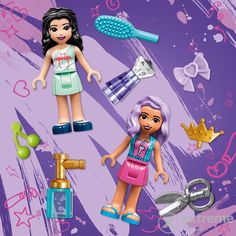LEGO® Friends - Friseursalon von Heartlake City (41391) Lego City, Iron Man, Avengers, Lego Friends, Barber Shop Names, Figurine, Iron Men, The Avengers