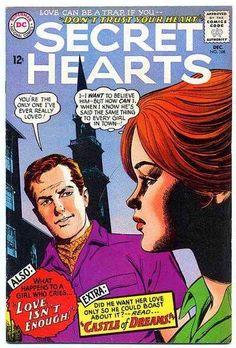 Romance Comics, True Romance, Vintage Romance, Drama Queens, Silver Age, American Comics, Love Can, Comic Covers, Trust Yourself