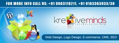Web Design, Logo Design, E-commerce, CMS, SEO.