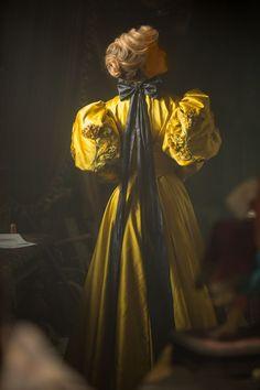Crimson Peak Edith Cushing, Movie Costume. Makes me think of John White Alexander.