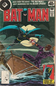 Batman Vol. 39 No. 306  1978  Third Appearance of by TheSamAntics