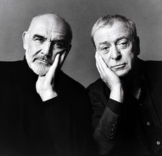 Sean Connery & Michael Caine