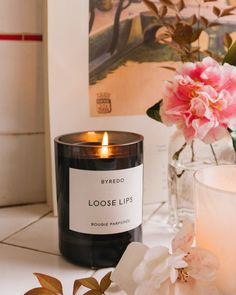 Luxe Candles to Upgrade Your Home Scent - The Chriselle Factor Scented Candles, Candle Jars, Blonde Wood, Home Scents, Home Candles, House Smells, Rose Water, Things To Buy, Buy Buy