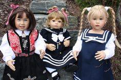 Sissel B Skille, Norwegian dolls...SIMONE ANN,KATRIN,JETTE