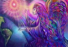 Magic Angel by DivineLightAngels on DeviantArt