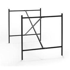 Eiermann2 stel - Anvendes både som skrivebord og spisebord