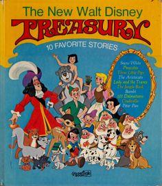 vintage kids book The New Walt Disney by OnceUponABookshop on Etsy, $4.50
