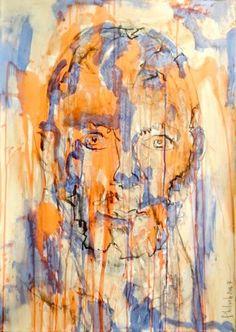 dubitare humanum est : Acrylique sur papier - Phil Jacques
