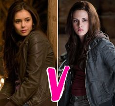 Every time I see a Twilight Vs. The Vampire Dairies, Vamp Dairies wins every time <3