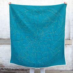 """""""Constellation Quilt""""  -Emily Fischer"""
