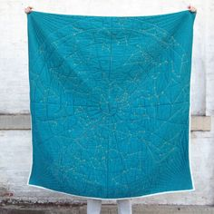I need to make one of these!! Constellation Quilt by Emily Fischer — Kickstarter