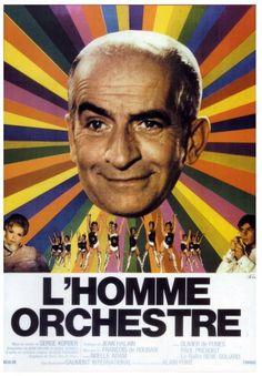 L'homme orchestre (1970) Stars: Louis de Funès, Noëlle Adam, Olivier De Funès ~  Director: Serge Korber