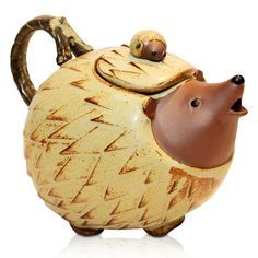 Hedgehog Teapot -- This teapot made me smile! -- PJN