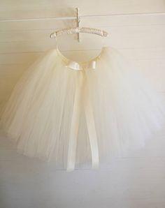 Adults ivory tutu skirt bridesmaid tutu skirt ballet tutu
