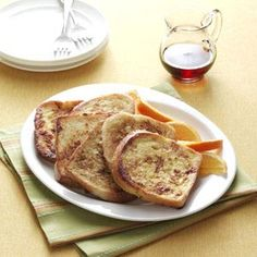 Vanilla French Toast Recipe from Taste of Home -- shared by Joe & Bobbie Schott of Castroville, Texas