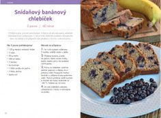 Břicháč Tom a Lucie Sweet Recipes, Healthy Recipes, Banana Bread, Ale, French Toast, Good Food, Food And Drink, Vegetarian, Cooking