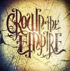 """I love crown the empire! So excited for their new album next month! Their new song """"initiation"""" is awesome!"""