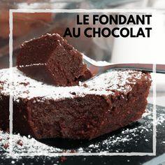 Instagram_FondantAuChocolat Chocolat Recipe, Apple Breakfast, No Cook Desserts, Cake Pops, Chocolate Cake, Icing, Cake Recipes, Biscuits, Food And Drink
