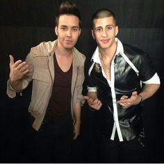 Prince Royce and Carlito Olivero ♥