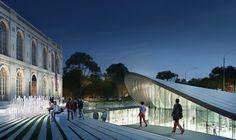 Zaha Hadid Architects + David Mutal Arquitectos. Image Courtesy of Museo de Arte de Lima ile ilgili görsel sonucu