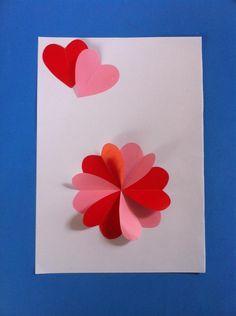 DIY Valentine : Easy Valentine Heart Card Tutorial