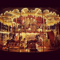 Lately I've come to appreciate carousels