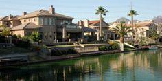 Lakefront Homes in Scottsdale, Arizona #realestate #scottsdale #homes