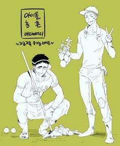 Haikyuu!! Issei Matsukawa & Takahiro Hanamaki   MatsuHana