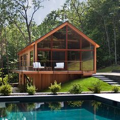 hudson woods is a residential retreat in upstate new york