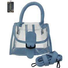 Donalworld Women's Mini Clear Bag Transparent Beach Green Handbag. Symple in Design ;Stylish and Fashion Factors. Magnetic Buckle Closure,Elegant and Decent. A Gorgeous Beach Bag For Girl. Versatile Clear Transparent Bag Used a Hangdbag ,Shoulder Bag or Cross-body Bag.