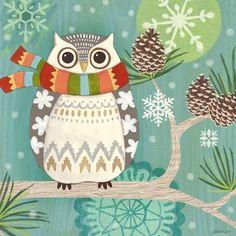 Woodland Owl by Jennifer Brinley | Ruth Levison Design