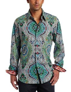 Special Offers Available Click Image Above: Robert Graham Men's Joseph Long Sleeve Shirt Mens Printed Shirts, Gq Men, Robert Graham, Casual Button Down Shirts, Joseph, Fashion Brands, Long Sleeve Shirts, Menswear, Mens Fashion