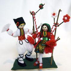 Baba Marta, Popsicle Crafts, Felt Pictures, Cork Art, Beautiful Hands, Needlework, Diy And Crafts, Knit Crochet, Congratulations