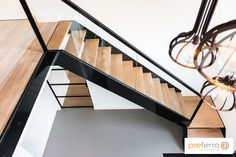 Stair Railing Design, Home Stairs Design, Interior Staircase, Staircase Railings, Modern Staircase, Modern House Design, Stairways, Loft Stairs, House Stairs
