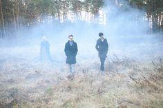 Billy Barman by Andrea Zvadova, via Behance #fashion #forest #three #smoke