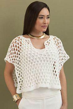 Ravelry: Vera Poncho Top pattern by Rosemary Drysdale